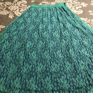 Lacy Maxi Skirt